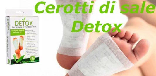 recensione cerotti di sale detox