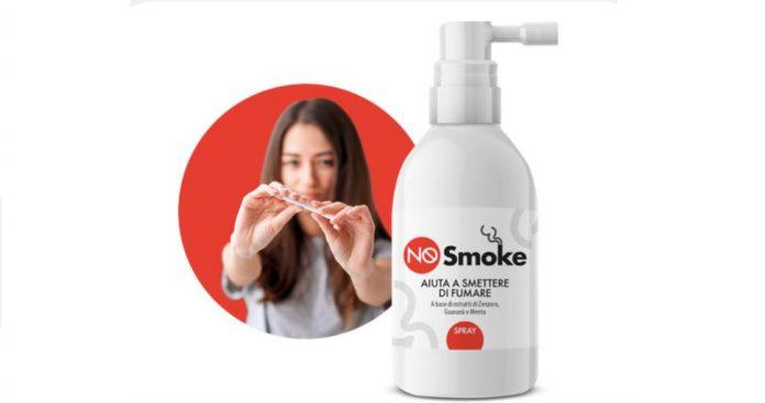 recensione nosmoke spray