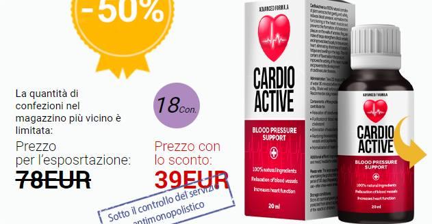 CardioActive prezzo