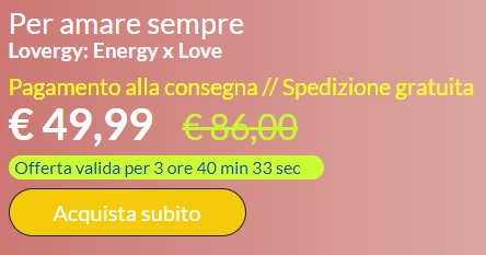 Lovergy prezzo