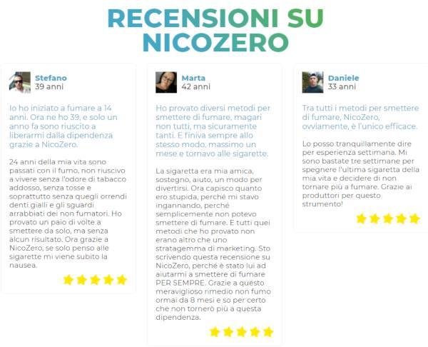 Nicozero opinioni e testimonianze