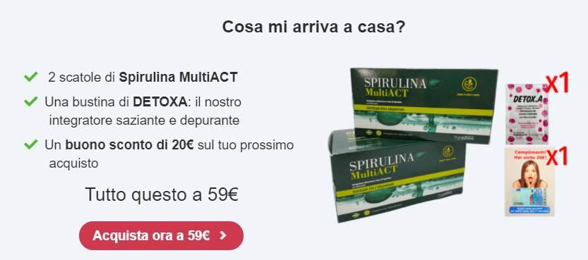 Spirulina MultiACT prezzo