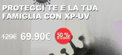 XP-UV prezzo