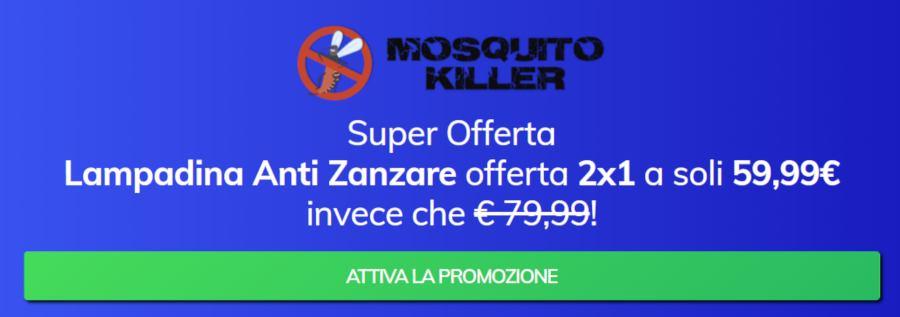 Mosquito Killer prezzo