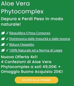 Aloe Vera Phytocomplex prezzo
