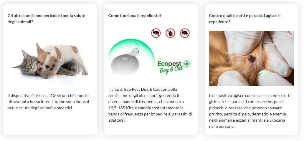 ecopest dog e cat come funziona
