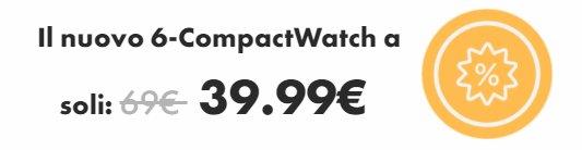 compact watch prezzo